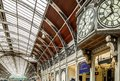Paddington station in London Royalty Free Stock Photo