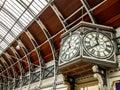 Paddington station in London Royalty Free Stock Photo