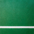 Paddle tennis green hard court texture with white line Royalty Free Stock Photos