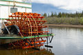 Paddle wheel boat Royalty Free Stock Photography