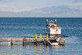 Paddle wheel boat on a lake Tahoe Royalty Free Stock Photo