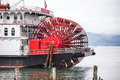 Paddle Wheel on Large Steam Boat Royalty Free Stock Photo