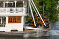 Paddle Wheel River Boat Royalty Free Stock Photos