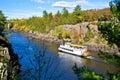 Paddleboat, autumn Royalty Free Stock Photo