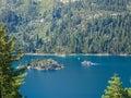Paddlewheel boat lake tahoe emerald bay in Royalty Free Stock Photos