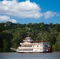 Paddlewheel Riverboat Royalty Free Stock Photo
