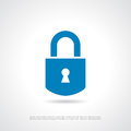 Padlock icon Royalty Free Stock Photo
