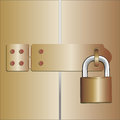 Padlocked Royalty Free Stock Images