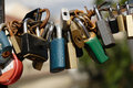 Padlocks Stock Image