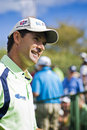 Padraig Harrington - Side Profile - NGC2010 Royalty Free Stock Photography