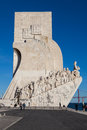 Padrao dos descobrimentos in vertical the discoveries monument celebrates the portuguese who took part the age of discovery it is Stock Images