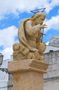 Padre eterno statue presicce puglia italy of Stock Photos