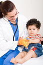 Paediatrician Stock Photography