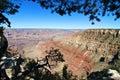 Paesaggio della sosta nazionale del grande canyon, Arizona, S.U.A. Immagine Stock Libera da Diritti
