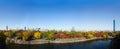 Paesaggio urbano di osaka Fotografie Stock