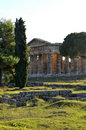 Paestum Temple Royalty Free Stock Photography