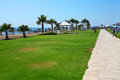 Pafos sunny day on resort cyprus Stock Photography