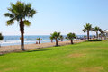 Pafos sunny day on resort cyprus Royalty Free Stock Photos