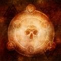 Pagan Dark Magic Royalty Free Stock Photo