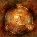 Pagan Sorceress Royalty Free Stock Photo