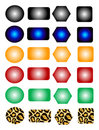 Page free colors buttons Stock Photos
