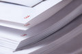 Page number of open book close up Royalty Free Stock Photo