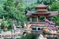 Pagoda of Asian temple Royalty Free Stock Photo