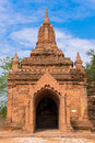 Pagoda in bagan ancient city Stock Image
