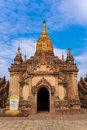 Pagoda in bagan ancient city Royalty Free Stock Photography