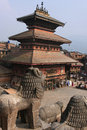 Pagoda in Bhaktapur Stock Images