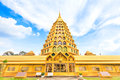 Pagoda in blue sky thailand Stock Photography