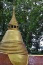 Pagoda buddhism belief reliability thai Royalty Free Stock Photo