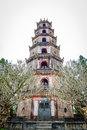 Pagoda de thien mu Photographie stock
