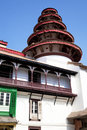 Pagoda at Kathmandu Durbar Square, Nepal Stock Photo