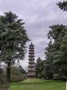 The Pagoda Kew Gardens  Winter Royalty Free Stock Photo