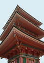 Pagoda at Kiyomizudera Temple Royalty Free Stock Photo