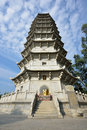 Pagoda a in shenzhen china Royalty Free Stock Image