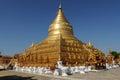 Pagoda Shwezigon Royalty Free Stock Photo