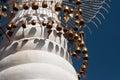 Pagoda spire in Kakku Stock Image