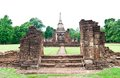 Pagoda at Sukhothai Historical Park. Stock Photos