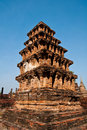 Pagoda of Sukhothai historical park,Thailand Royalty Free Stock Photos