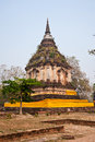 Pagoda in thai temple Stock Photos
