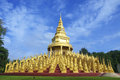 The pagoda  Thailand. Royalty Free Stock Photography