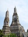 Pagoda , Wat Arun (Temple of the Dawn) Stock Photos