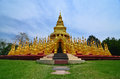 Pagoda in wat pa sa wang boon saraburi thailand Stock Photos