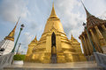 Pagoda in Wat Phra Kaew,Bangkok, Thailand Royalty Free Stock Photo