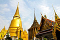 The pagoda of Wat Phra Kaew ,Thailand. Stock Image