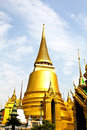 The pagoda of Wat Phra Kaew ,Thailand. Stock Photography
