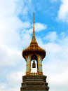 Pagoda at wat phra si rattana satsadaram wat phra kaew in bangkok thailand Royalty Free Stock Photos