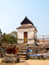 Pagoda of wat phratat lampang luang in thailand Royalty Free Stock Images